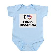 I love Fulda Minnesota Body Suit