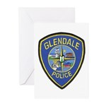Glendale Police Greeting Cards (Pk of 20)