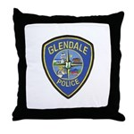 Glendale Police Throw Pillow