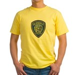 Glendale Police Yellow T-Shirt
