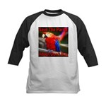 Save The Parrot Adopt Don't B Kids Baseball Jersey