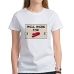 RED STAPLER HUMOR Women's T-Shirt