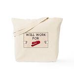 RED STAPLER HUMOR Tote Bag