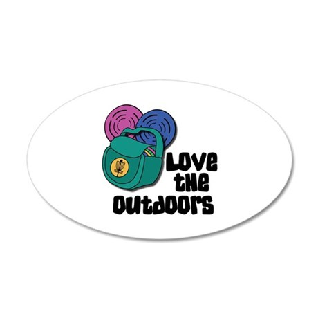 Love The Outdoors Wall Decal