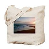 Kekaha Beach Sunset Tote Bag