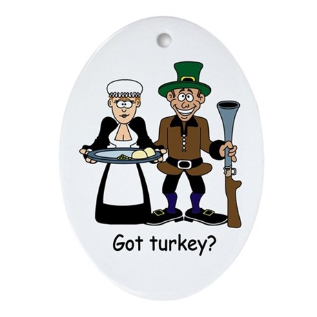 Got turkey? Oval Ornament