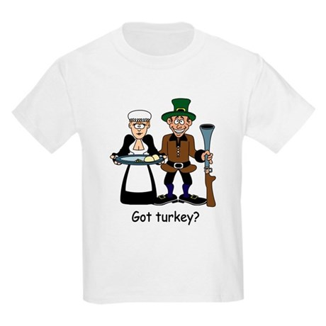Got turkey? Kids Light T-Shirt