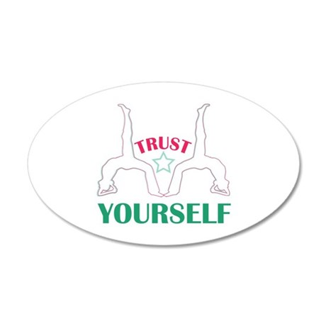 Trust Yourself Wall Decal