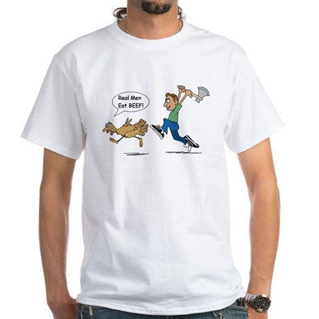 Funny Thanksgiving White T-Shirt