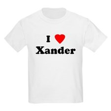 I Love Xander T-Shirt
