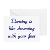 Dancing Greeting Card