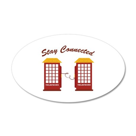 Stay Connected Wall Decal