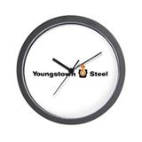 Youngstown Steel Wall Clock