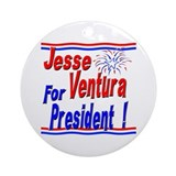 Ventura for President Ornament (Round)