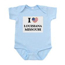 I love Louisiana Missouri Body Suit