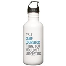 Camp Counselor Water Bottle