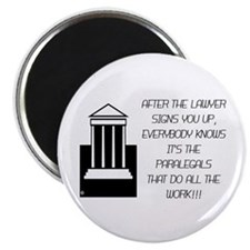 "Lawyer assistant 2.25"" Magnet (10 pack)"