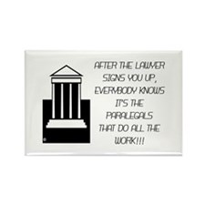 Cool Legal assistant Rectangle Magnet (100 pack)