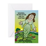 Mother Nature - Greeting Card
