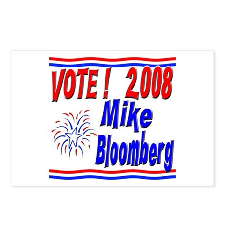 Vote Mike Bloomberg Postcards (Package of 8)