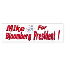 Mike Bloomberg Bumper Bumper Sticker