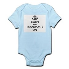 Keep Calm and Transports ON Body Suit