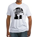 MMA Scream it Out! Fitted T-Shirt