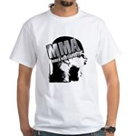 MMA Scream it Out! White T-Shirt