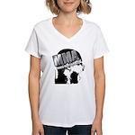 MMA Scream it Out! Women's V-Neck T-Shirt