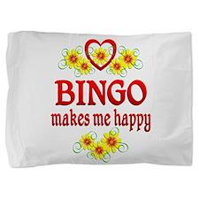 Bingo Happiness Pillow Sham