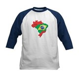 Brazil Flag and Country Tee