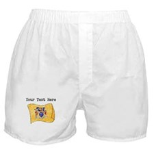 New Jersey State Flag (Distressed) Boxer Shorts