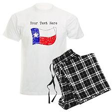 Texas State Flag (Distressed) Pajamas
