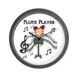 Flute Player Wall Clock