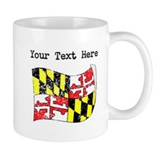 Maryland State Flag (Distressed) Mugs
