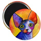 "SPHYNX CAT #3 2.25"" Magnet (10 pack)"