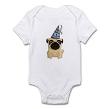 2nd Birthday Pug Infant Body Suit