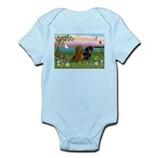 Shore & Dachshund Pair Infant Creeper