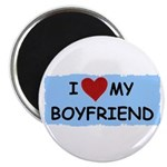 I LOVE MY BOYFRIEND Magnet
