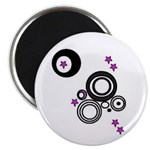 CIRCLE AND STARS Magnet