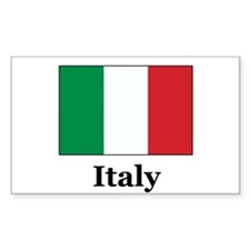 Italy Rectangle Decal