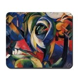 The Mandrill by Franz Marc Mousepad