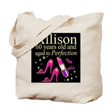 SPARKLING 60TH Tote Bag