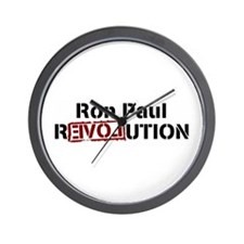 Ron Paul Revolution Wall Clock