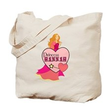 Princess Hannah Tote Bag