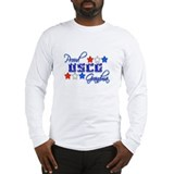 USCG Grandma Long Sleeve T-Shirt
