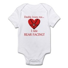 Cool Rear facing Infant Bodysuit