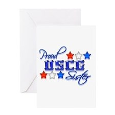 USCG Sister Greeting Card