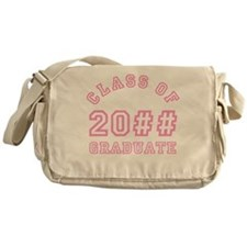 PERSONALIZED Grad Year Messenger Bag