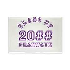 PERSONALIZED Grad Year Rectangle Magnet